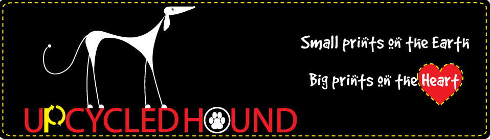 Upcycled Hound Banner