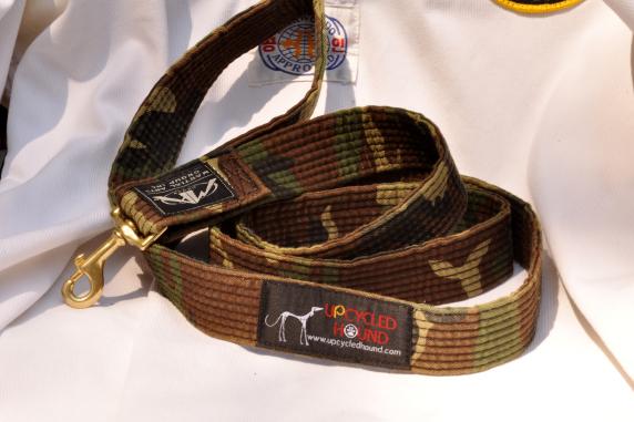 Camoflouge Karate Belt Leash