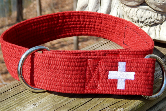 Karate Belt Collar