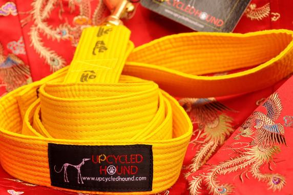 Yellow Karate Belt Leash