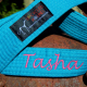Karate Belt Leash Teal Color