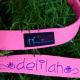 Hot Pink Karate Belt Leash