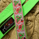 Karate Belt Leash in Lime Green