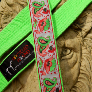 Karate Belt Leash in Lime Green